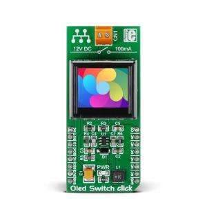 Oled Switch click - OLED RGB displei, lülitiga