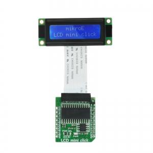 LCD mini click - 2x16 LCD displei