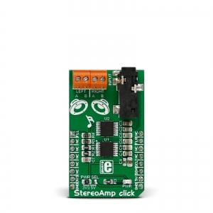 StereoAmp click - LM48100 2x1.3W audio võimendi moodul
