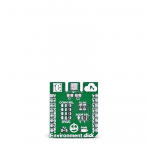 Environment click - BME680 ilmastikuanduri moodul