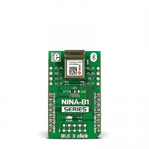 BLE 3 click - NINA-B1 Bluetooth LE 4.2 moodul