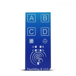 TouchKey 2 click - 4 puutelüliti moodul