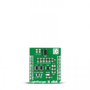 Light Ranger 2 click - VL53L0X optiline kaugus/suunaanduri moodul