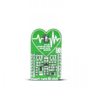 Heart rate 4 click - MAX30101 pulssoksümeeter ja südame löögisageduse andur