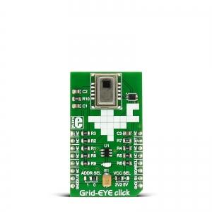 Grid-EYE click -  AMG8852 Infrapuna maatriksanduri moodul