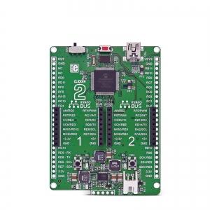 Clicker 2 for PIC24 - stardiplatvorm 16-bit PIC24F mikrokontrolleriga