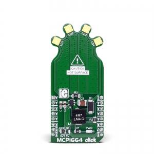 MCP1664 click - LED draiveriga valgusmoodul