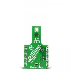 Fever Click - MAX30205 keha termomeetri moodul