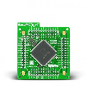EasyPIC FUSION v7 ETH - PIC32MZ2048ECH144 mikrokontrolleri moodul