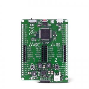 Clicker 2 for dsPIC33 - stardiplatvorm 16-bit dsPIC33E mikrokontrolleriga
