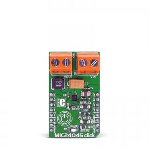 MIC24045 Click - 5A toitekonverteri moodul