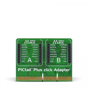 PICtail Plus Click Adapter - adapter 2 click moodulile