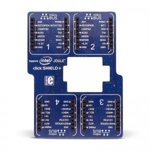 Intel Joule click SHIELD+ - adapter 4 click moodulile