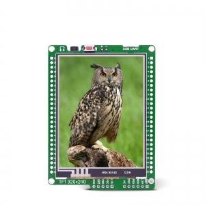 mikromedia 2.8´´ nutikas displei PIC18FK mikrokontrolleriga