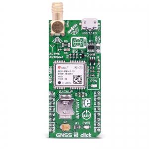 GNSS 5 click - NEO-M8N GPS/GLONASS moodul