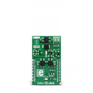 DALI 2 Click - valgustuse juhtimise adapter