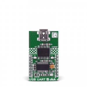 USB UART 2 Click - ADUM4160  USB isolaator
