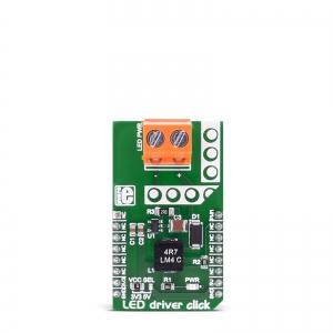 LED driver click - MCP1662 LED draiveri moodul