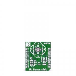 IR Sense click - AK9750 infrapuna temperatuurianduri moodul