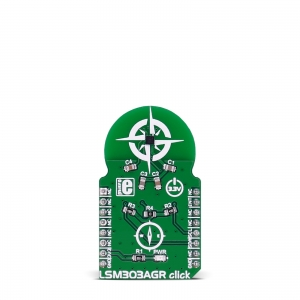 LSM303AGR click - kompass/kiirendusanduri moodul