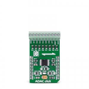 ADAC click - AD5593R  8 kanaliga 12-bit AD/DA muunduri moodul