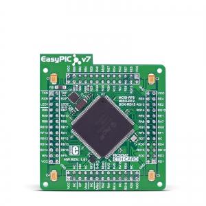 EasyPIC FUSION v7 ETH - PIC32MZ2048EFH144 mikrokontrolleri moodul