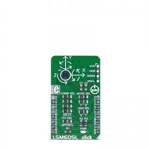 LSM6DSL click - güroskoop/kiirendusanduri moodul