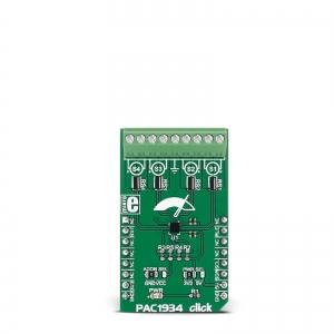 PAC1934 click - 4 kanaliga energiamõõtja moodul
