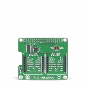 Pi 3 click shield - Raspberry adapter 2 click moodulile
