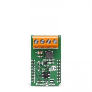 Boost 4 Click - TPS61230A  2.4A toitekonverteri moodul