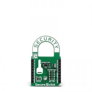 Secure 2 click - ATAES132A krüptoprotsessori moodul