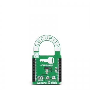Secure 3 click - ATSHA204A krüptoprotsessori moodul