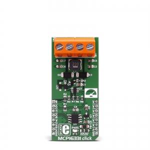 MCP16331 click - 500mA toitekonverteri moodul