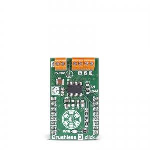 Brushless 3 click - DRV10983 harjavaba mootori draiveri moodul