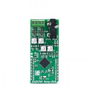 2x20W Amp click - MAX9744 2x20W audio võimendi moodul