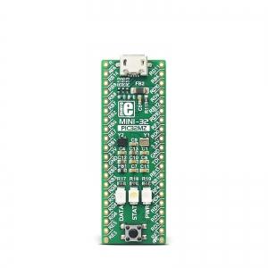 MINI-32 - arendusplatvorm PIC32MZ mikrokontrolleriga