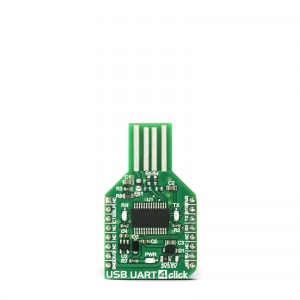 USB UART 4 click - FT232RL jadaliidese adapter