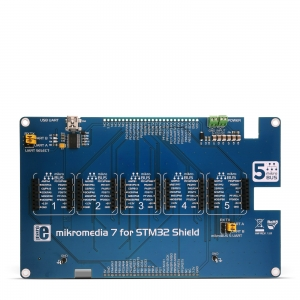 mikroBUS Shield adapterplaat mikromedia 7´´ STM32 displeile