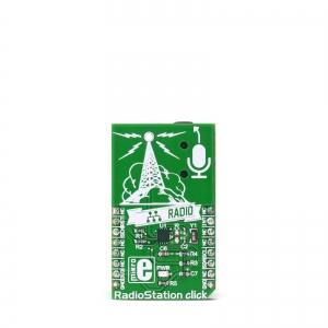 RadioStation click - Si4713 FM stereo saatja moodul