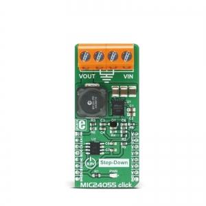 MIC24055 click - 8A toitekonverteri moodul