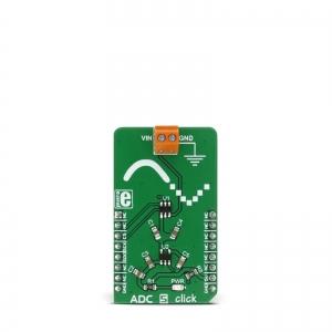 ADC 5 click - ADC121S021  12-bit AD muunduri moodul