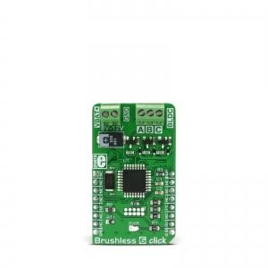 Brushless 6 click - ATmega8A harjavaba mootori kontrolleri moodul
