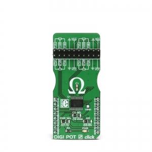 DIGI POT 5 click - MCP4361 4 kanaliga digi potentsiomeetri moodul