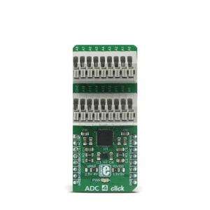 ADC 4 click - AD7175-8  8/16 kanaliga 24-bit AD muunduri moodul