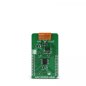 MIC33153 click - 1.2A toitekonverteri moodul