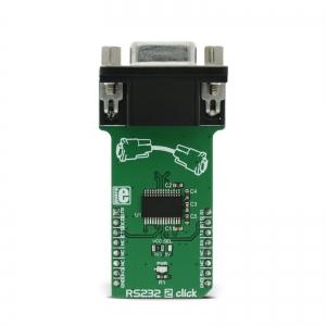 RS232 2 click - MAX 3237E jadaliidese adapter