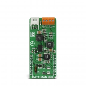 BATT-MAN click - LTC3586 toitekonverter/laadija moodul