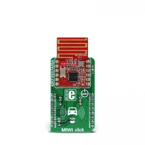 MiWi click - MRF89XAM8A  868MHz transiiveri moodul