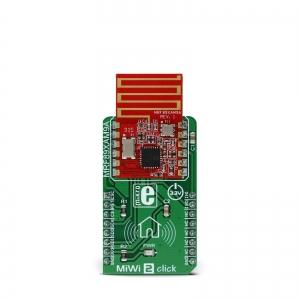 MiWi 2 click - MRF89XAM9A  868MHz transiiveri moodul