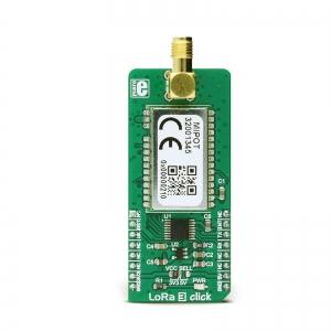 LoRa 3 click - MIPOT 868MHz transiiveri moodul